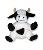 Plush Cow Animal - 8 Inch