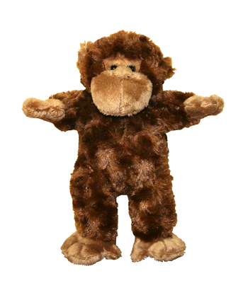 Plush Monkey Animal - 8 Inch