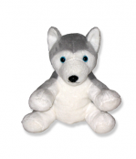 Plush Animal Husky Dog - 8 Inch