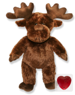Plush Animal Moose - 15 Inch