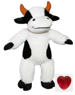 Plush Animal Cow - 15 Inch