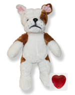 Plush Animal Bull Dog - 15 Inch