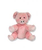 Plush Animal Pink Pig - 8 Inch