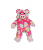 Pink Heart Pig Plush Animal - 8 Inch