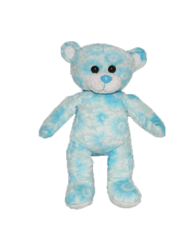 Blue Petal Plush Animal - 8 Inch