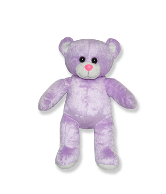 Purple Plush Animal - 8 Inch
