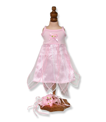 Pink Petaled Fairy Dress - Fits 18 inch Doll