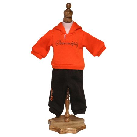 Cute Jogging Outfit - Fits 18 inch Doll