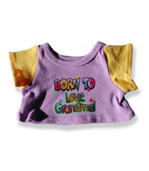Born to Love Grandma - Fits 15 Inch Plush Animal