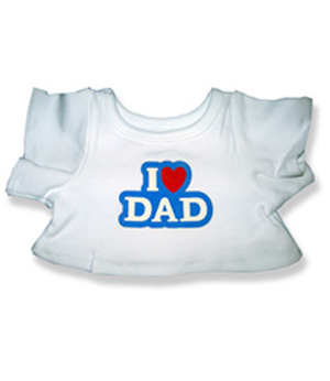 I Love Dad - Fits 15 Inch Plush Animal