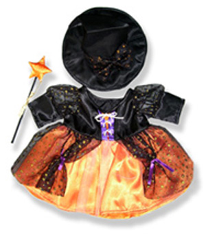 Witch Costume - Fits 15 Inch Plush Animal