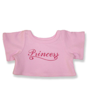 Princess T Shirt - Fits 15 Inch Plush Animal
