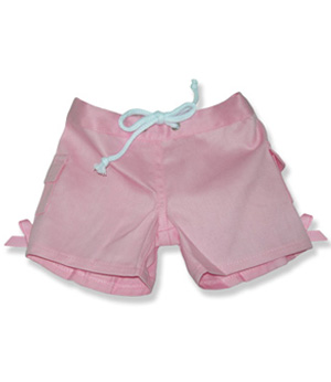 Pink Girls Pants - Fits 15 Inch Plush Animal