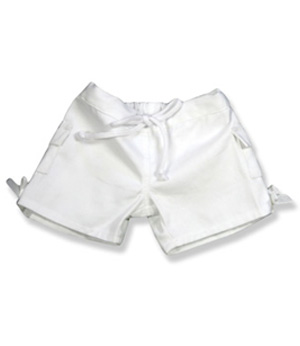 White Girls Pants - Fits 15 Inch Plush Animal