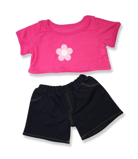 Daisy Top and Jeans - Fits 15 Inch Plush Animal