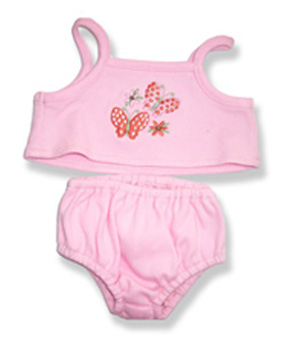 Pink Cami Set - Fits 15 Inch Plush Animal