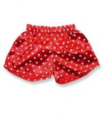 Red Boxers with White Hearts - Fits 15 Inch Plush Animal