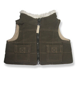 Brown Vest - Fits 15 Inch Plush Animal
