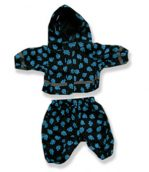 Blue Paws Rain Suit - Fits 15 Inch Plush Animal