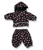 Pink Paws Rain Suit - Fits 15 Inch Plush Animal